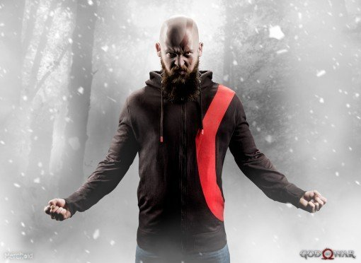 Sony presenterar en serie God of War-prylar